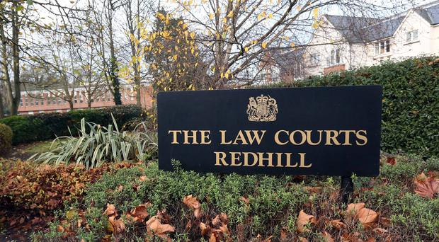 Peter Keeley-Pannett has been bailed to appear at Redhill Magistrates' Court on September 28
