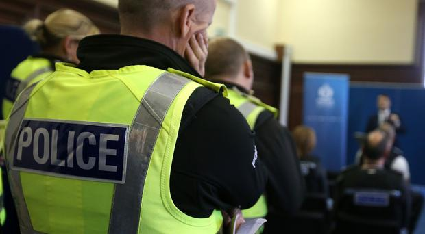 An investigation has started after a man was shot near a primary school in Bishopbriggs