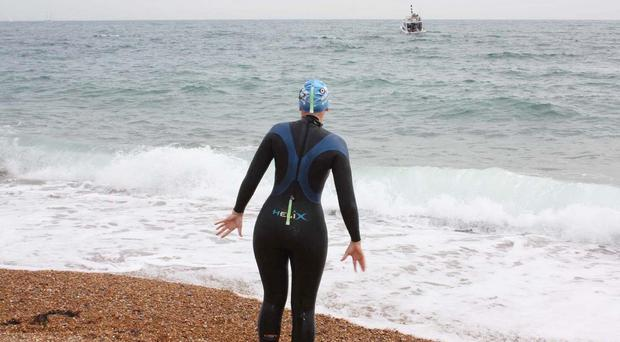 Enduroman participants will run 87 miles from Marble Arch to Dover, swim the English Channel and then cycle 181 miles to the Arc de Triomphe