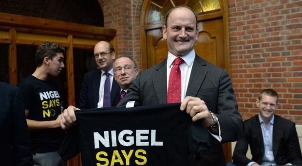 Ukip MP Douglas Carswell will deliver a speech at the party's conference
