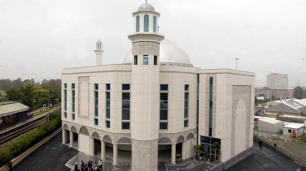 The Baitul Futuh Mosque is the largest in Western Europe