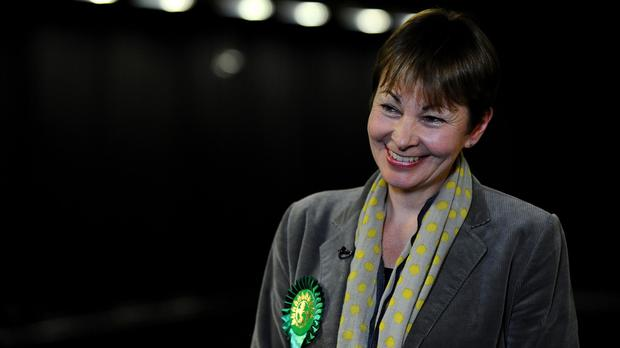 Caroline Lucas is among the speakers at the Scottish Greens' party conference