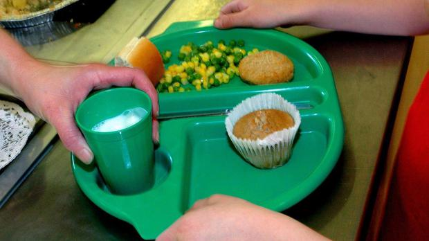 Free school meals for infants were introduced last September
