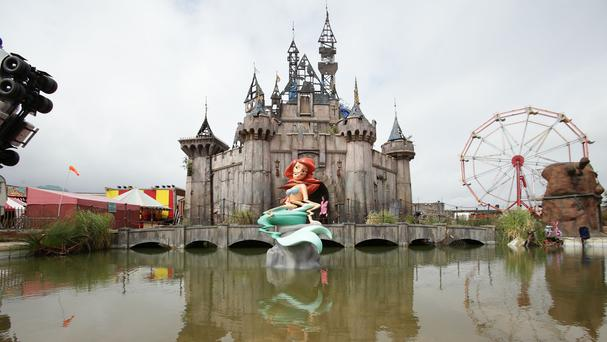 Dismaland is being decommissioned and sent to Calais