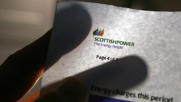 Complaints about ScottishPower topped the rankings