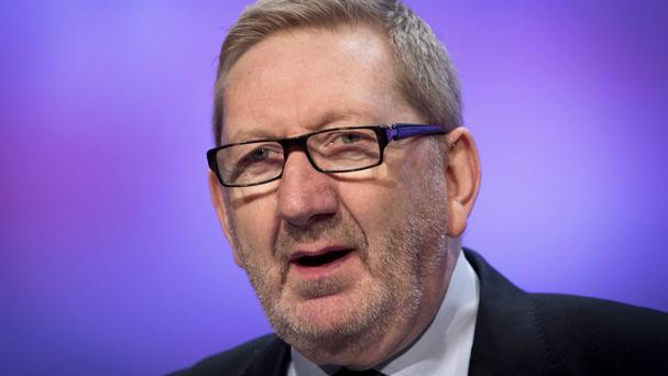 Len McCluskey urged the Government to make it easier to carry out strike ballots, such as letting them take place online