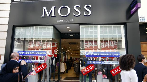 Moss Bros has 125 stores in the UK