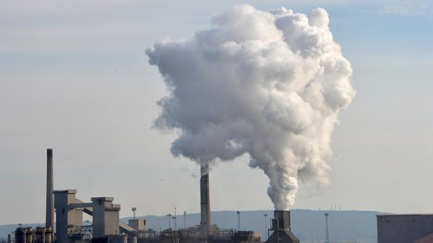 The SSI steel plant in Redcar which is being mothballed with the loss of 1,700 jobs