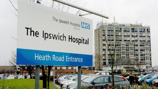 Ipswich Hospital, where Bonnie Strachan died soon after her breech birth