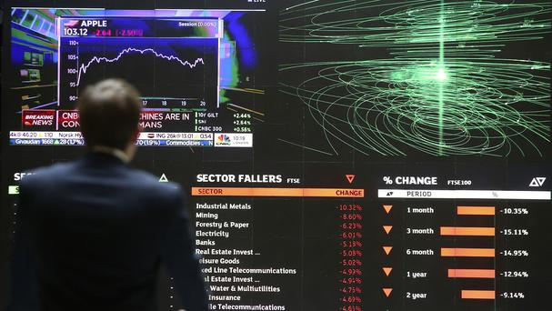 The FTSE surged 2.6% or 152.3 points to 6061.6 amid a global market fight-back