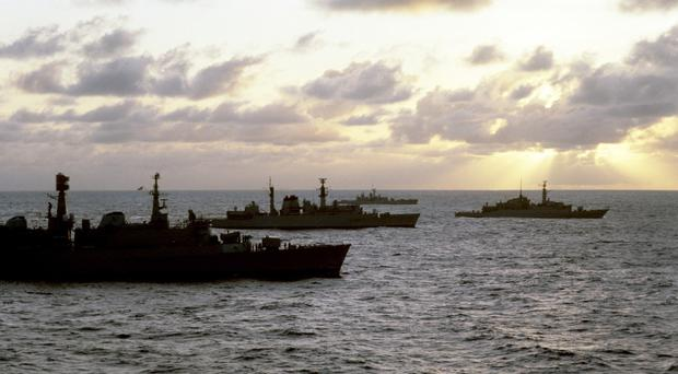 A British task force recaptured the Falklands from Argentine invaders