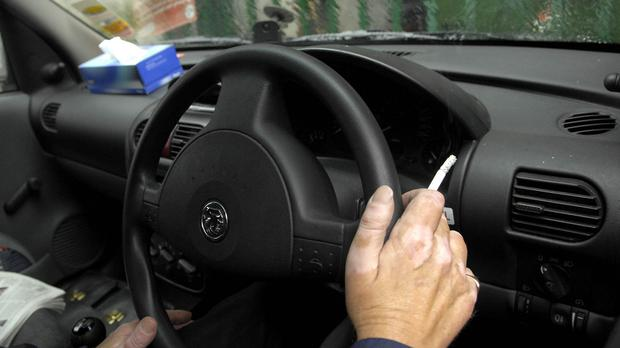 A new law on smoking in cars comes into force