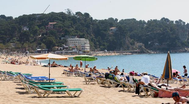 Lloret de Mar on Spain's Costa Brava, where two British women went missing after a late-night swim