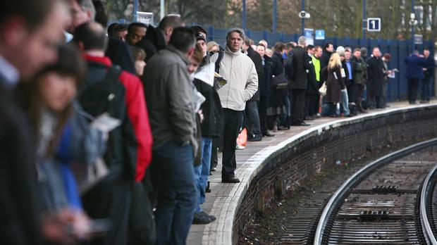 Leaves on the line can cause delays for rail travellers in the autumn