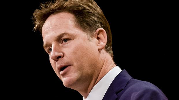Nick Clegg warned that a vote in favour of Brexit would trigger a fresh referendum on Scottish independence