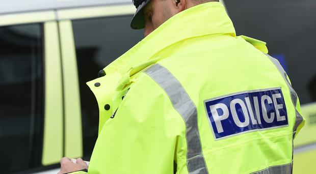 Police said a 40-year-old man has been arrested