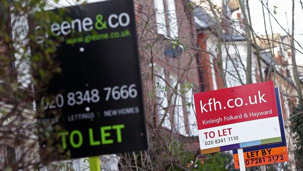 The proportion of households renting from private landlords has more than doubled, figures show