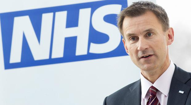 Health Secretary Jeremy Hunt was accused of making changes to the contract because of a need to cut costs