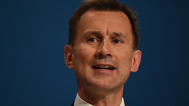Jeremy Hunt says tax credit changes send