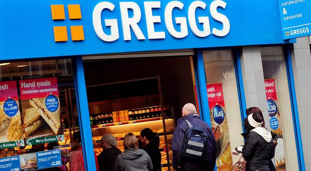 Greggs has revealed a better-than-expected 4.9% rise in like-for-like sales in the 13 weeks to October 3