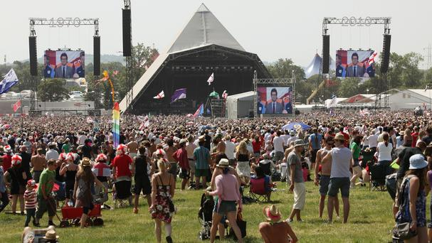 The Glastonbury Festival team said they wanted to do something to help refugees