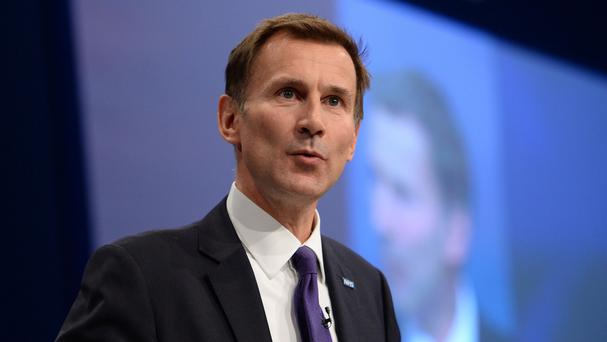 Health Secretary Jeremy Hunt said it is 'utterly irresponsible' to suggest he is trying to introduce 'unsafe' longer working hours and pay cuts for doctors