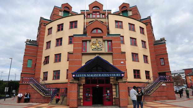 Stefan Rigo was given a 40-week suspended prison sentence by magistrates in Leeds