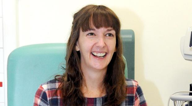 Pauline Cafferkey, who contracted Ebola while working in Sierra Leone, and who has been flown to the Royal Free Hospital in London