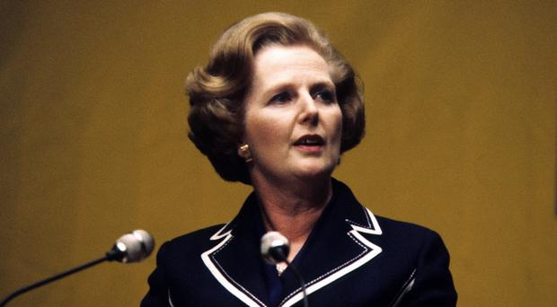The memo to Margaret Thatcher said she had gained a public image as