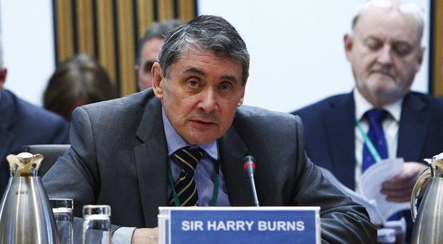 Ex-chief medical officer Sir Harry Burns is due to outline 'hidden costs of austerity' (Scottish Parliament/PA)
