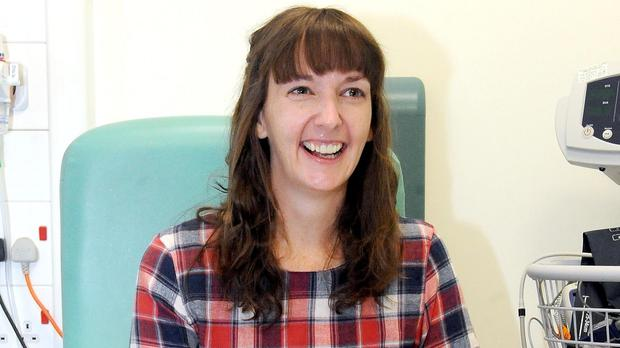 Pauline Cafferkey, pictured in January after treatment for Ebola