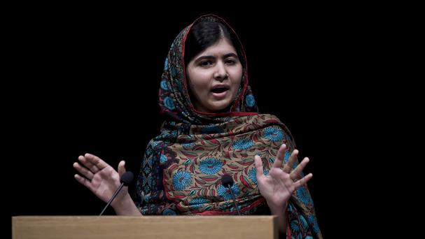 Malala Yousafzai narrowly avoided death aged 15 in 2012 after being shot in the head by the Pakistani Taliban