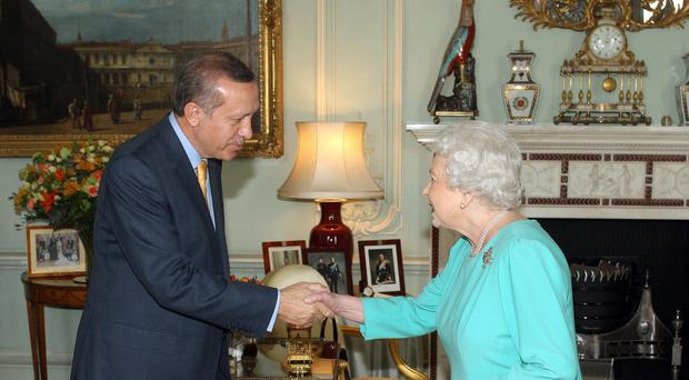 The Queen has revealed her shock at the terror attacks in Ankara in a letter to Turkey's president Recep Tayyip Erdogan