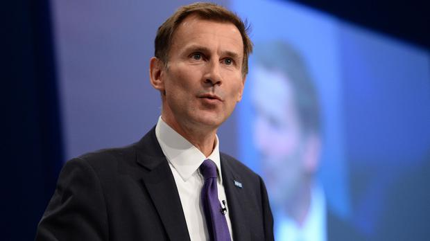 Jeremy Hunt said he would be pleased to discuss how far a normal working week would extend on Saturdays