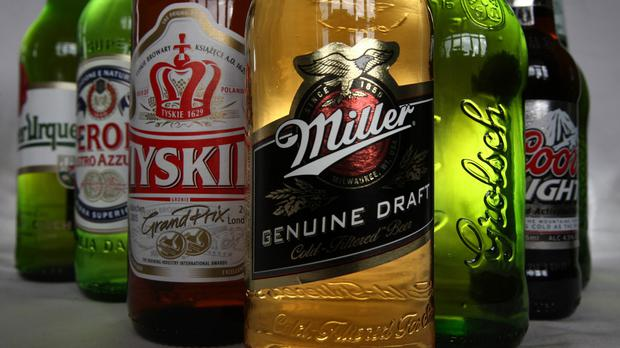 SABMiller and Budweiser brewer Anheuser-Busch InBev have