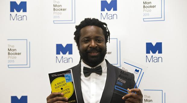 Marlon James, winner of the Man Booker Prize for Fiction