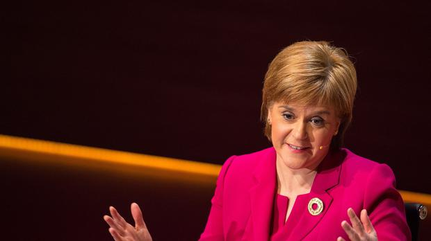 Nicola Sturgeon hopes to win over those who opposed independence.