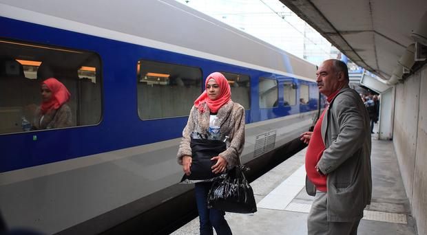 An internal document sent to staff at SNCF directed that fees be waived under certain circumstances. (AP).