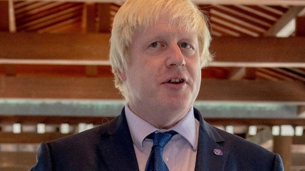 Boris Johnson is set for a 'street' game of rugby