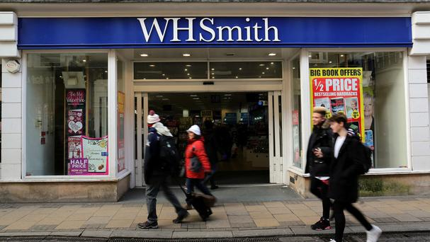 WH Smith said demand for adult colouring books drove sales of its non-fiction books in stores