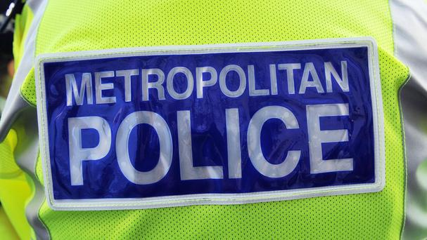 A Metropolitan police officer has been taken to hospital after suffering a gunshot wound in Hackney