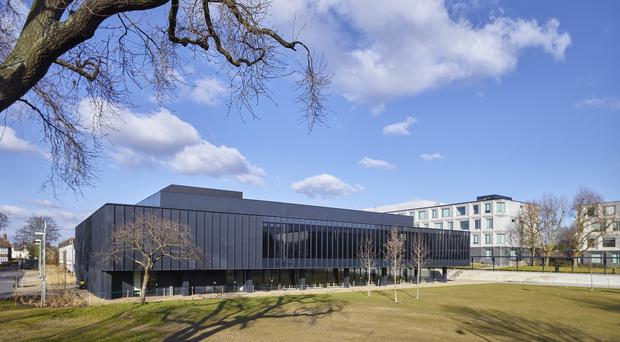 Burntwood School in Wandsworth, south-west London, by Allford Hall Monaghan Morris has won the 2015 RIBA Stirling Prize