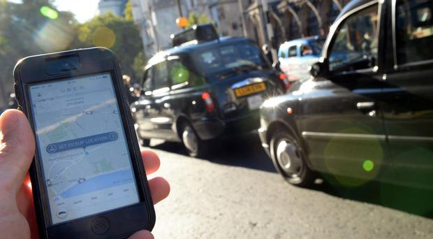 Transport for London is seeking clarification as to whether the Uber smartphone app breaks the law