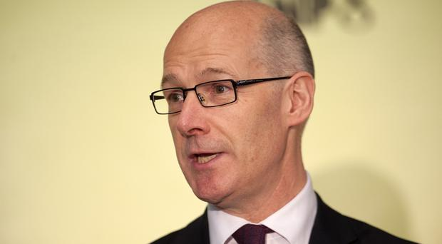 John Swinney says local government will be able to keep all the cash it collects in business rates