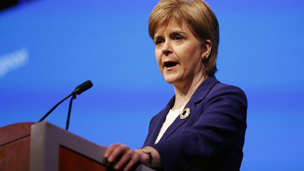 First Minister Nicola Sturgeon said it would be