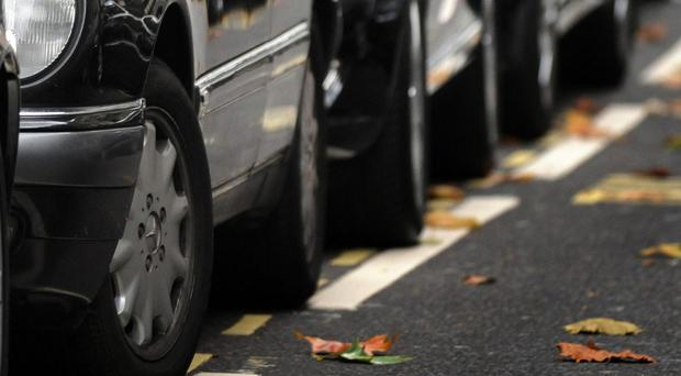 More than a third (38%) of workers who commute by car said they worry about parking, the survey showed