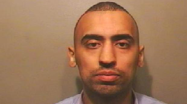 Waqas Khan has been jailed after being caught in possession of cocaine as he sat in the dock for another case.