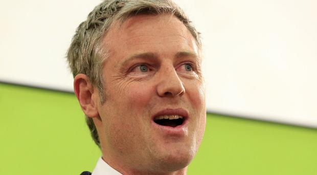 Zac Goldsmith said tax credit reforms are necessary but should be phased to protect people on low incomes