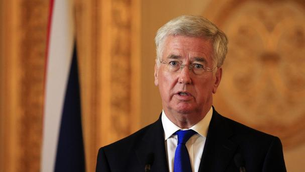 Michael Fallon said the UK should carry out airstrikes on IS targets in Syria