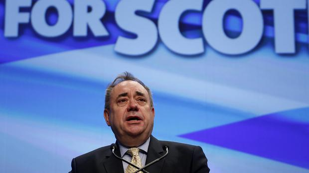 Alex Salmond dismissed a suggestion that the UK Government could block any fresh Scottish referendum as